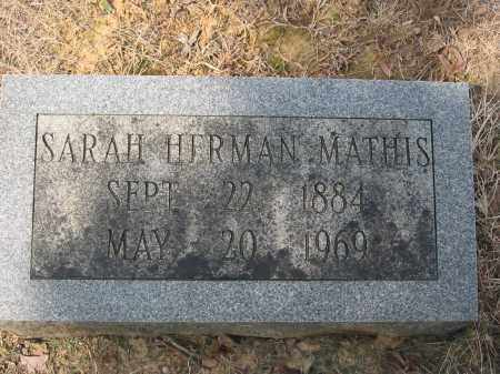SHERIDAN HERMAN, SARAH ANN - Cross County, Arkansas | SARAH ANN SHERIDAN HERMAN - Arkansas Gravestone Photos