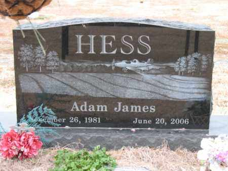 HESS, ADAM JAMES - Cross County, Arkansas | ADAM JAMES HESS - Arkansas Gravestone Photos