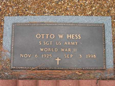 HESS, SR (VETERAN WWII), OTTO WILLIAM - Cross County, Arkansas | OTTO WILLIAM HESS, SR (VETERAN WWII) - Arkansas Gravestone Photos