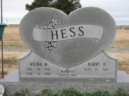 HESS, WILMA M - Cross County, Arkansas | WILMA M HESS - Arkansas Gravestone Photos