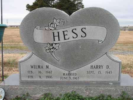 HESS, WILMA M - Cross County, Arkansas | WILMA M HESS - Arkansas Gravestone Photos