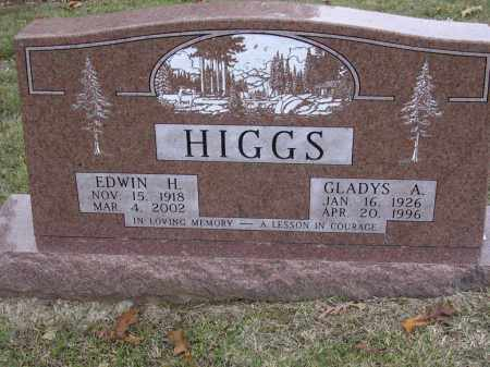 HIGGS, GLADYS A - Cross County, Arkansas | GLADYS A HIGGS - Arkansas Gravestone Photos