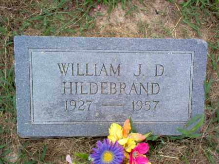 HILDEBRAND, WILLIAM J D - Cross County, Arkansas | WILLIAM J D HILDEBRAND - Arkansas Gravestone Photos