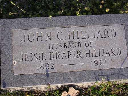 HILLIARD, JOHN C - Cross County, Arkansas | JOHN C HILLIARD - Arkansas Gravestone Photos