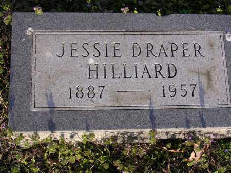 DRAPER HILLIARD, JESSIE - Cross County, Arkansas | JESSIE DRAPER HILLIARD - Arkansas Gravestone Photos