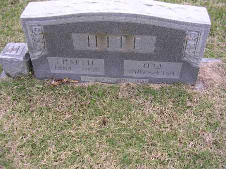 HITE, CHARLIE - Cross County, Arkansas | CHARLIE HITE - Arkansas Gravestone Photos