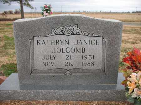 HOLCOMB, KATHRYN JANICE - Cross County, Arkansas | KATHRYN JANICE HOLCOMB - Arkansas Gravestone Photos