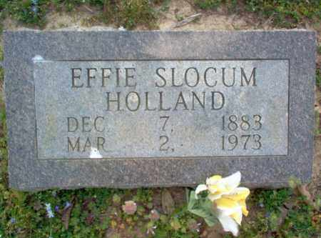 HOLLAND, EFFIE - Cross County, Arkansas | EFFIE HOLLAND - Arkansas Gravestone Photos