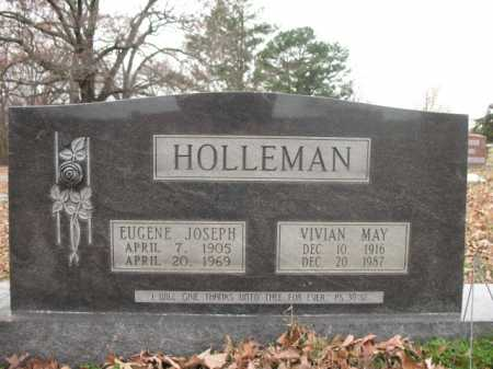 HOLLEMAN, EUGENE JOSEPH - Cross County, Arkansas | EUGENE JOSEPH HOLLEMAN - Arkansas Gravestone Photos