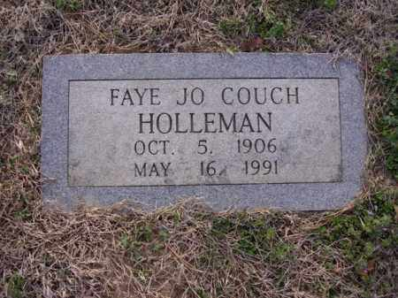HOLLEMAN, FAYE JO - Cross County, Arkansas | FAYE JO HOLLEMAN - Arkansas Gravestone Photos