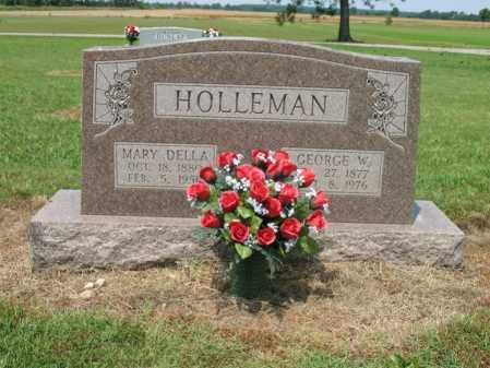 HOLLEMAN, GEORGE W - Cross County, Arkansas | GEORGE W HOLLEMAN - Arkansas Gravestone Photos
