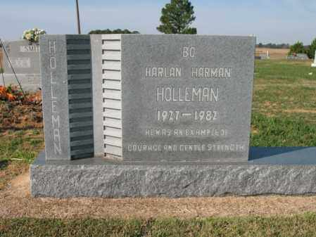 "HOLLEMAN, HARLAN HARMAN ""BO"" - Cross County, Arkansas 