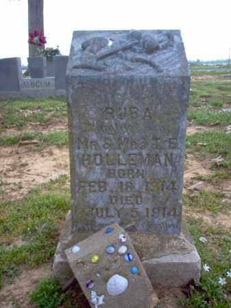 HOLLEMAN, RUBA - Cross County, Arkansas | RUBA HOLLEMAN - Arkansas Gravestone Photos