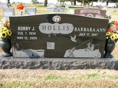 HOLLIS, BOBBY J - Cross County, Arkansas | BOBBY J HOLLIS - Arkansas Gravestone Photos
