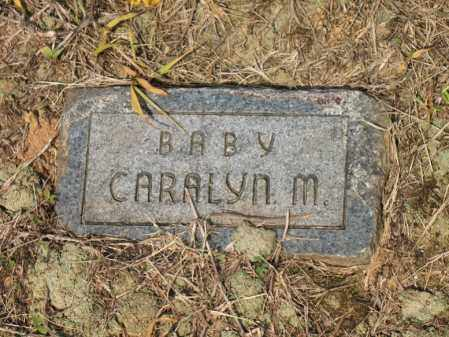 HOLMES, CARALYN M - Cross County, Arkansas | CARALYN M HOLMES - Arkansas Gravestone Photos
