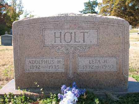 HOLT, LETA H - Cross County, Arkansas | LETA H HOLT - Arkansas Gravestone Photos