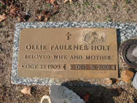HOLT, OLLIE - Cross County, Arkansas | OLLIE HOLT - Arkansas Gravestone Photos