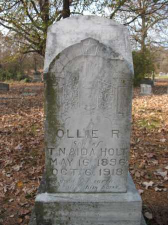 HOLT, OLLIE RUFUS - Cross County, Arkansas | OLLIE RUFUS HOLT - Arkansas Gravestone Photos