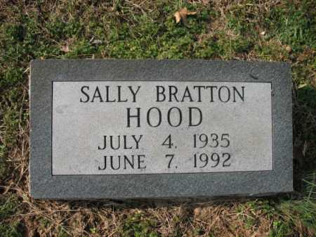 HOOD, SALLY - Cross County, Arkansas | SALLY HOOD - Arkansas Gravestone Photos