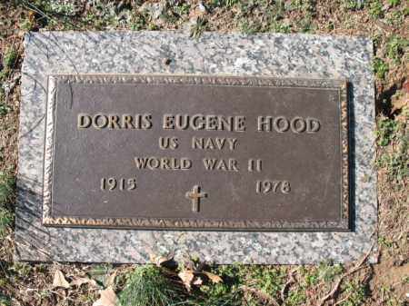 HOOD (VETERAN WWII), DORRIS EUGENE - Cross County, Arkansas | DORRIS EUGENE HOOD (VETERAN WWII) - Arkansas Gravestone Photos