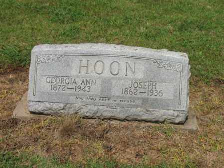 HOON, JOSEPH - Cross County, Arkansas | JOSEPH HOON - Arkansas Gravestone Photos