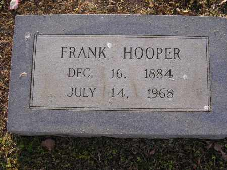 HOOPER, FRANK - Cross County, Arkansas | FRANK HOOPER - Arkansas Gravestone Photos