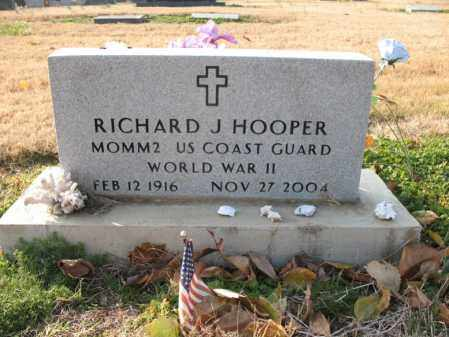 HOOPER (VETERAN WWII), RICHARD J - Cross County, Arkansas | RICHARD J HOOPER (VETERAN WWII) - Arkansas Gravestone Photos