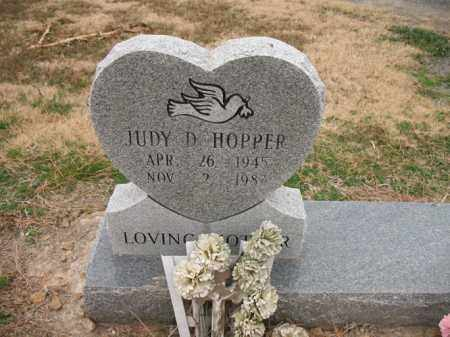 HOPPER, JUDY D - Cross County, Arkansas | JUDY D HOPPER - Arkansas Gravestone Photos