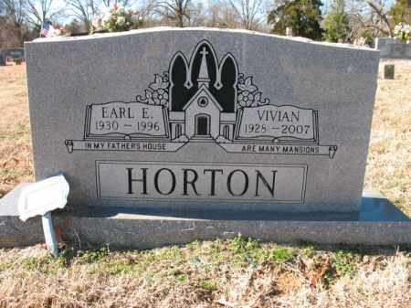 HORTON, EARL EDWARD - Cross County, Arkansas | EARL EDWARD HORTON - Arkansas Gravestone Photos