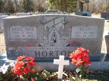 HORTON, HUEY - Cross County, Arkansas | HUEY HORTON - Arkansas Gravestone Photos