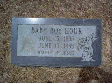 HOUK, BABY BOY - Cross County, Arkansas | BABY BOY HOUK - Arkansas Gravestone Photos