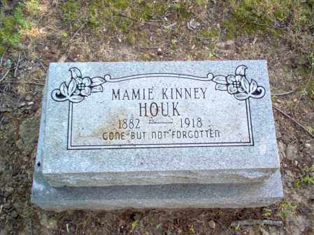 KINNEY HOUK, MAMIE - Cross County, Arkansas | MAMIE KINNEY HOUK - Arkansas Gravestone Photos