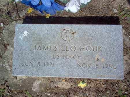 HOUK (VETERAN), JAMES LEO - Cross County, Arkansas | JAMES LEO HOUK (VETERAN) - Arkansas Gravestone Photos