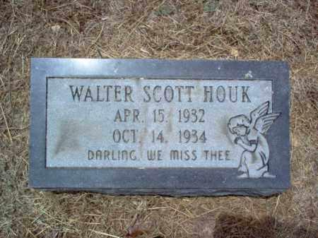 HOUK, WALTER SCOTT - Cross County, Arkansas | WALTER SCOTT HOUK - Arkansas Gravestone Photos