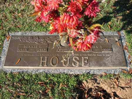 HOUSE, BENNIE L - Cross County, Arkansas | BENNIE L HOUSE - Arkansas Gravestone Photos
