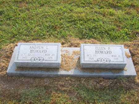 HOWARD, ELLEN P - Cross County, Arkansas | ELLEN P HOWARD - Arkansas Gravestone Photos