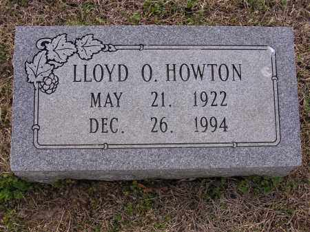 HOWTON, LLOYD ORVAL - Cross County, Arkansas | LLOYD ORVAL HOWTON - Arkansas Gravestone Photos