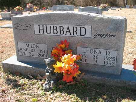 HUBBARD, LEONA D - Cross County, Arkansas | LEONA D HUBBARD - Arkansas Gravestone Photos