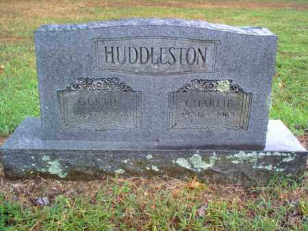 HUDDLESTON, GERTIE - Cross County, Arkansas | GERTIE HUDDLESTON - Arkansas Gravestone Photos