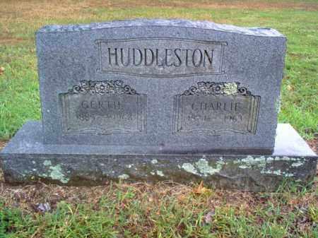 HUDDLESTON, CHARLIE - Cross County, Arkansas | CHARLIE HUDDLESTON - Arkansas Gravestone Photos