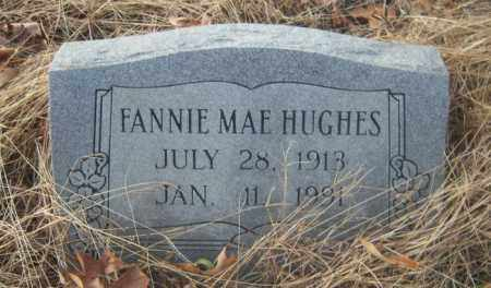 HUGHES, FANNIE MAE - Cross County, Arkansas | FANNIE MAE HUGHES - Arkansas Gravestone Photos