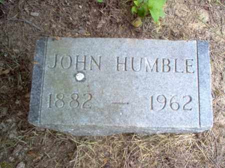 HUMBLE, JOHN - Cross County, Arkansas | JOHN HUMBLE - Arkansas Gravestone Photos