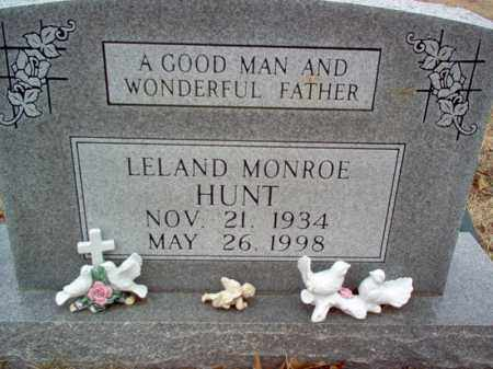 HUNT, LELAND MONROE - Cross County, Arkansas | LELAND MONROE HUNT - Arkansas Gravestone Photos