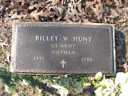 HUNT (VETERAN VIET), BILLEY W - Cross County, Arkansas | BILLEY W HUNT (VETERAN VIET) - Arkansas Gravestone Photos