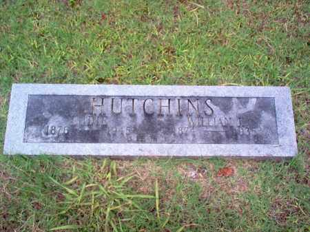 HUTCHINS, LUDIE - Cross County, Arkansas | LUDIE HUTCHINS - Arkansas Gravestone Photos