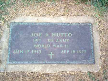 HUTTO (VETERAN WWII), JOE A - Cross County, Arkansas | JOE A HUTTO (VETERAN WWII) - Arkansas Gravestone Photos
