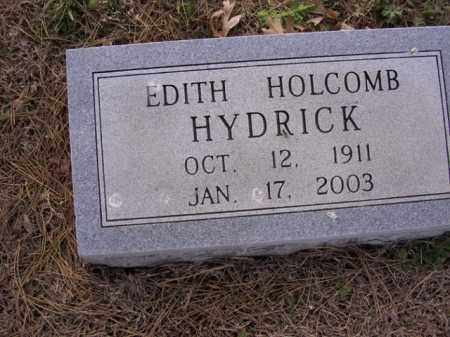 HOLCOMB HYDRICK, EDITH - Cross County, Arkansas | EDITH HOLCOMB HYDRICK - Arkansas Gravestone Photos