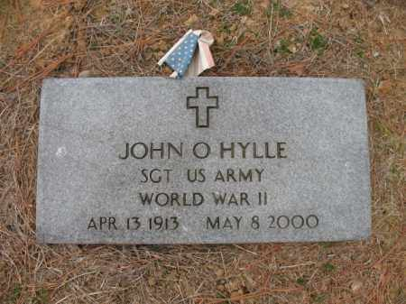 HYLLE (VETERAN WWII), JOHN O - Cross County, Arkansas | JOHN O HYLLE (VETERAN WWII) - Arkansas Gravestone Photos