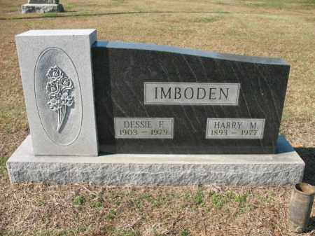 IMBODEN, HARRY M - Cross County, Arkansas | HARRY M IMBODEN - Arkansas Gravestone Photos
