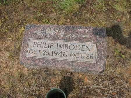 IMBODEN, PHILIP - Cross County, Arkansas | PHILIP IMBODEN - Arkansas Gravestone Photos